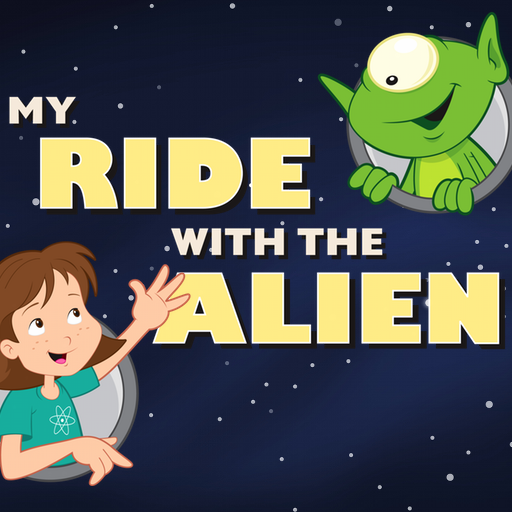 My Ride With The Alien Book App for Kids